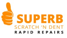 Superb Scratch and Dent Rapid Repairs Logo