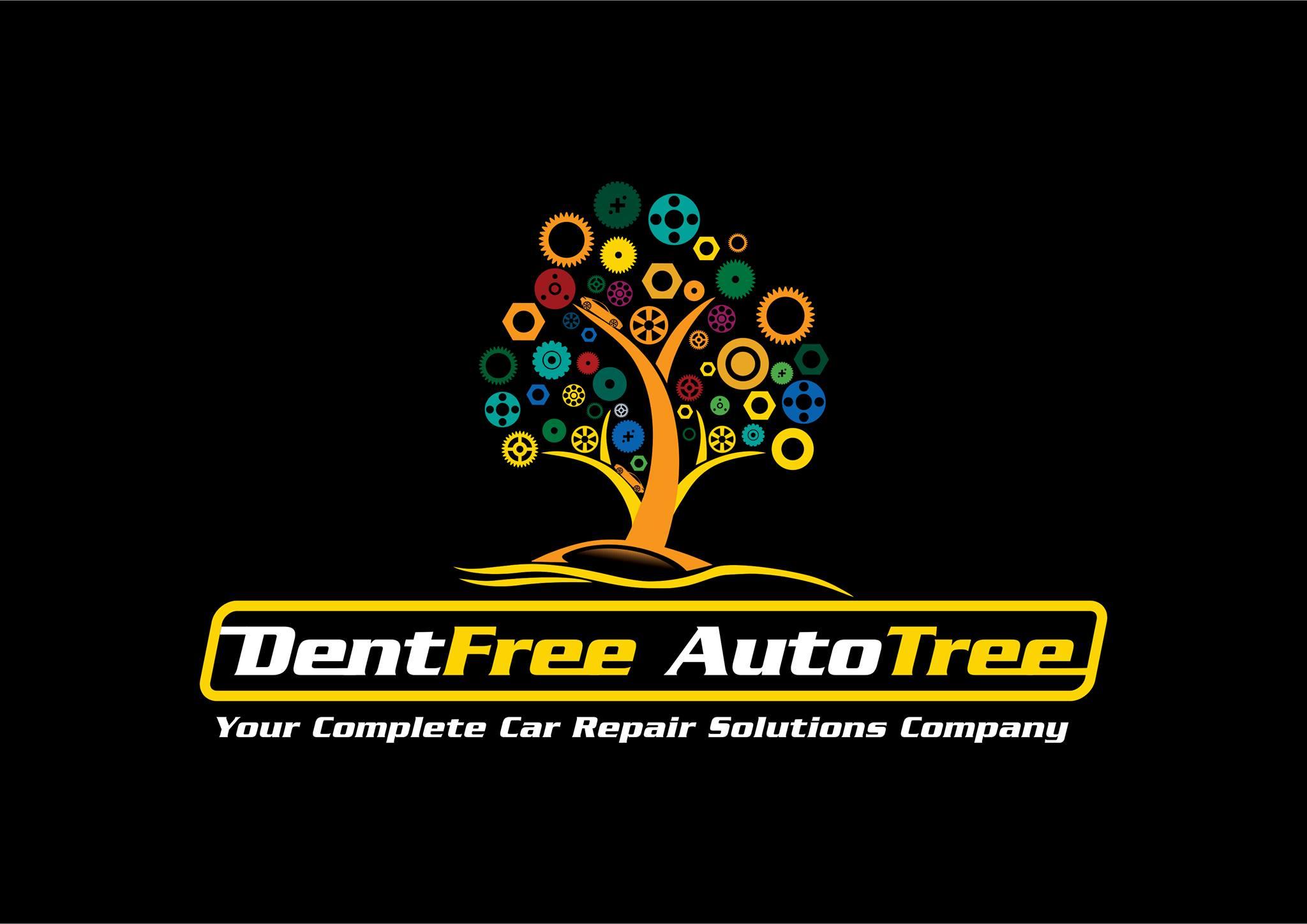 Dent Free Auto Tree Logo