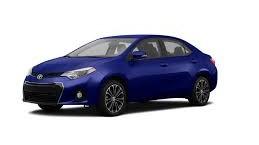 2015 Blue Toyota Corolla Smash Repairs