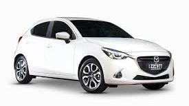 2012 White Mazda 2 Smash Repairs
