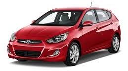 2015 Red Hyundai Accent (RB) Smash Repairs