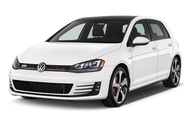 2017 White Volkswagen Golf Smash Repairs