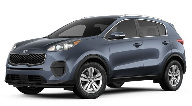 2017 Blue Kia Sportage (QL) Smash Repairs