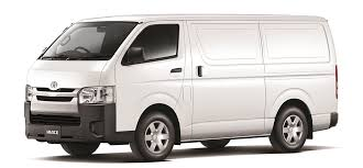 2016 White Toyota Hiace Smash Repairs