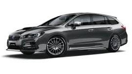2020 Black Subaru Levorg Smash Repairs