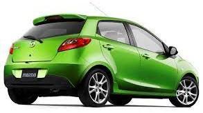 2010 Green Mazda N/A Smash Repairs