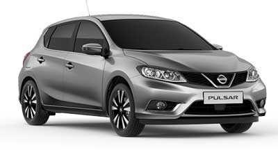 2013 Grey Nissan Pulsar Smash Repairs