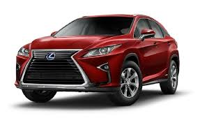 2013 Red Lexus RX450H Smash Repairs