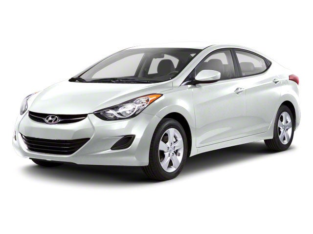 2012 White Hyundai Elantra Smash Repairs